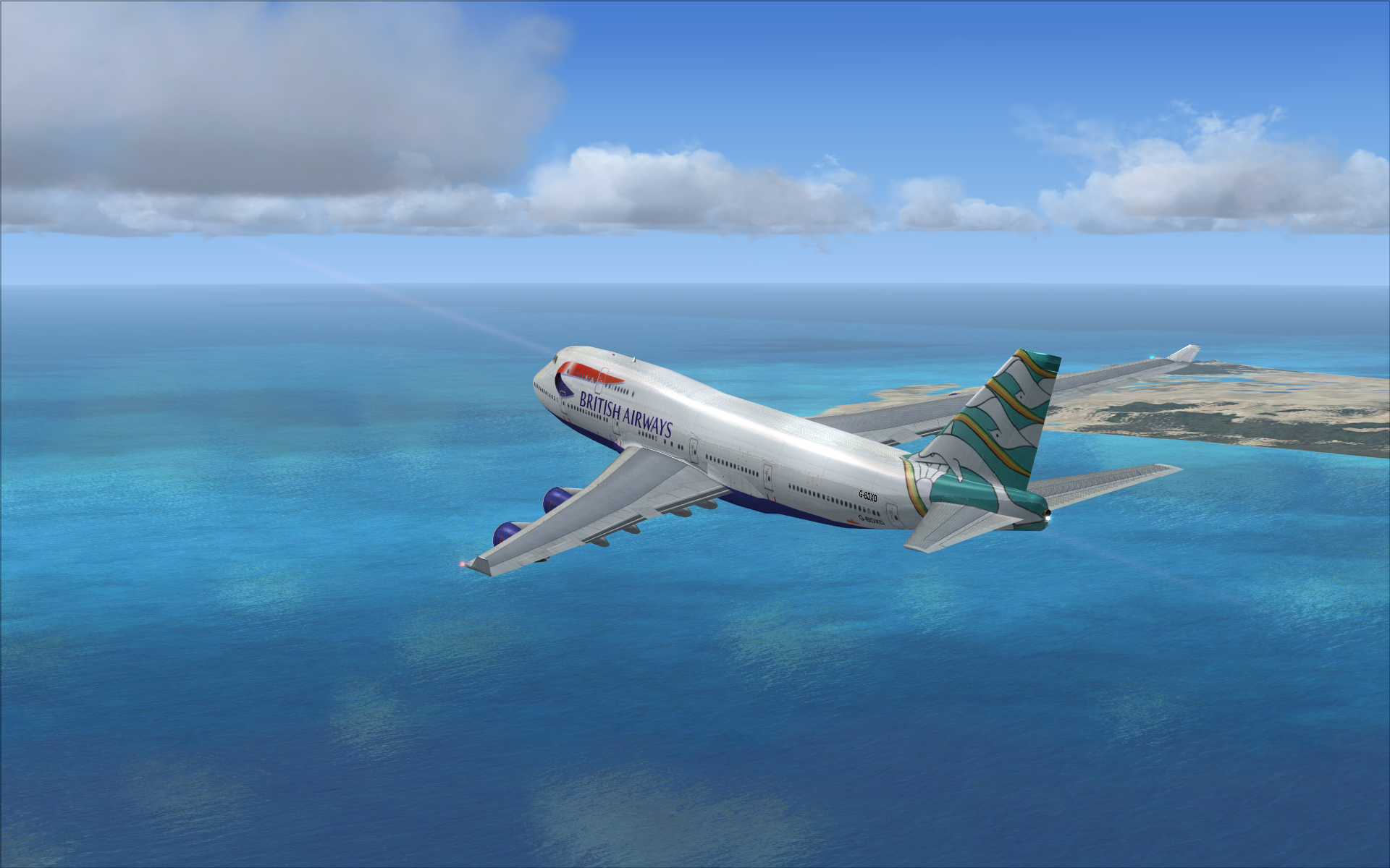 Flight Simulator X Deluxe wallpaper 1920x1200