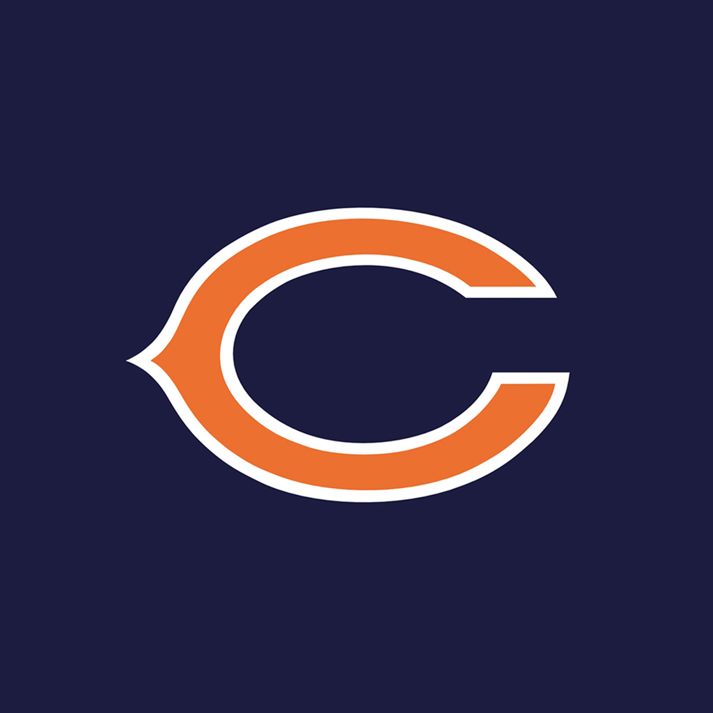 Chicago Bears Team Logos iPad Wallpapers Digital Citizen 1024x1024