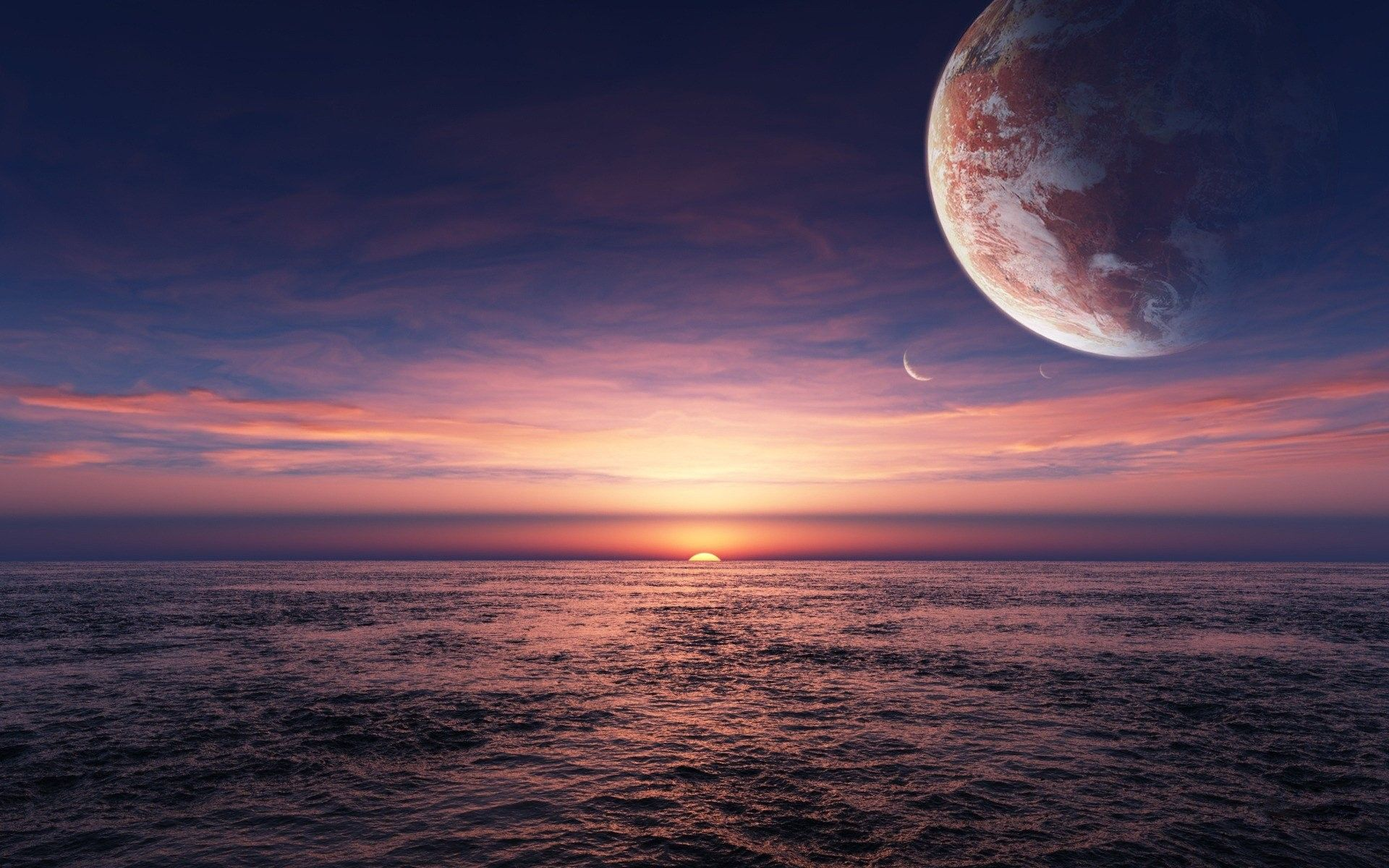 45 Space Sunset Wallpapers   Download at WallpaperBro 1920x1200