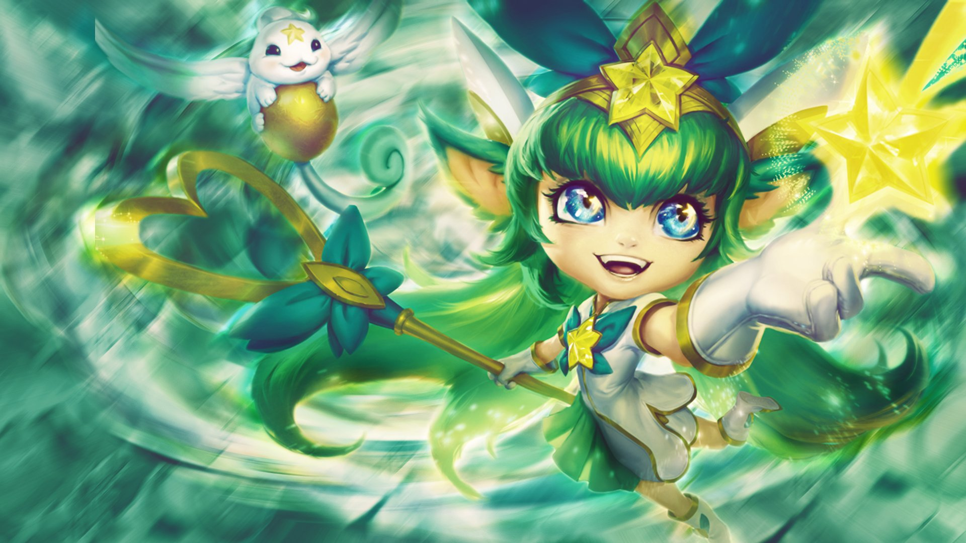 Free Download 1920x1080 Star Guardian Lulu Imgur 1920x1080 For
