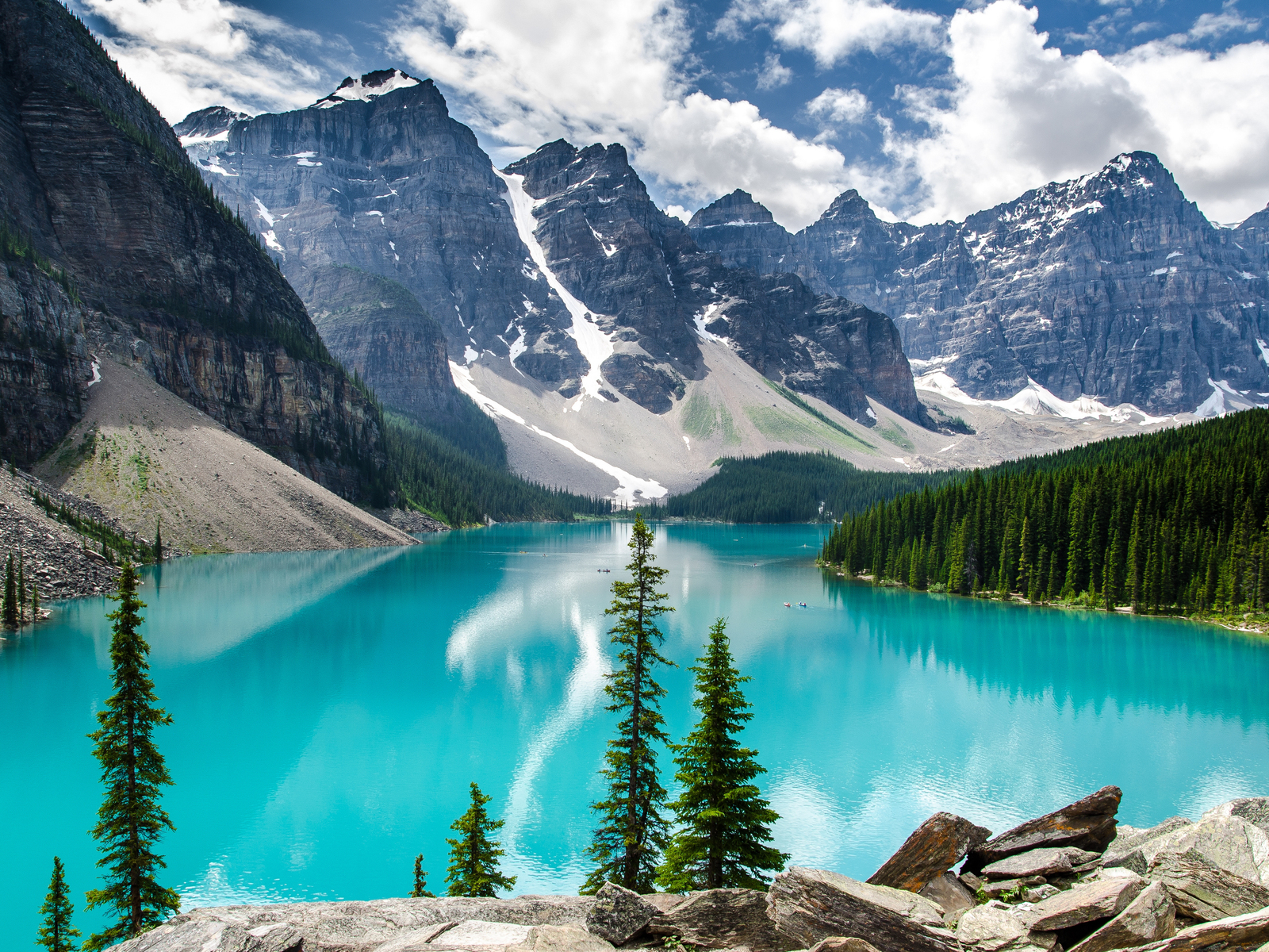 National Park Canada Moraine Lake HD Wallpaper HD Nature Wallpapers 1600x1200
