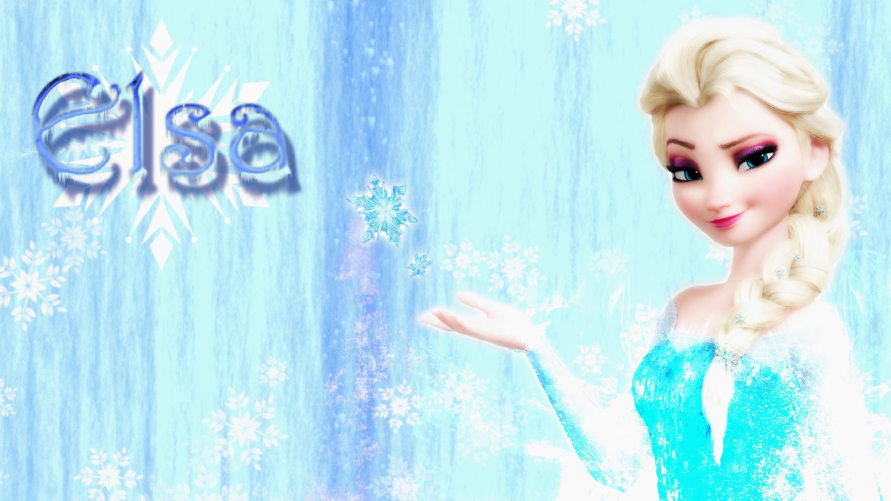Frozen Elsa Wallpaper - WallpaperSafari