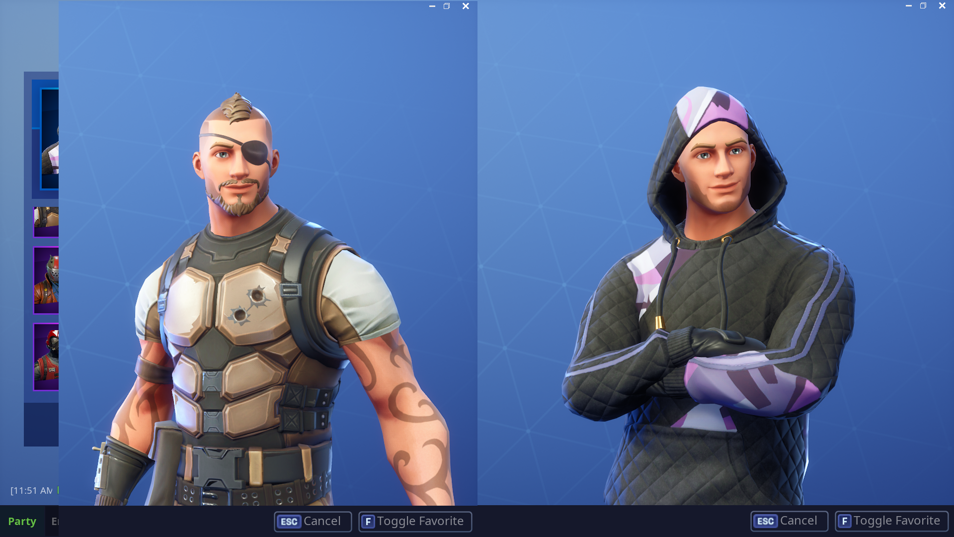 In todays update Monikers beard got undocumented shave FortNiteBR 1920x1080