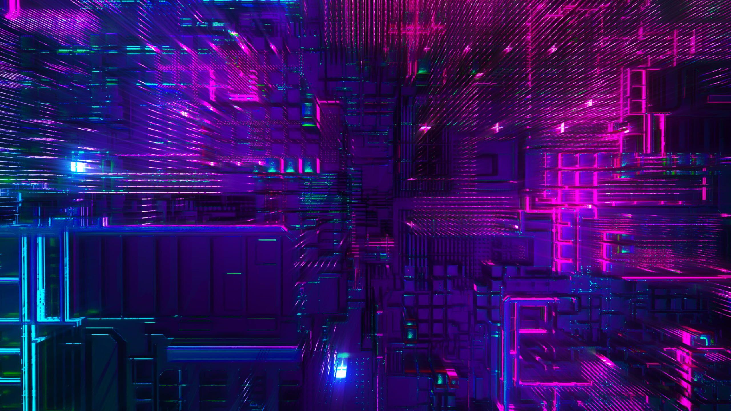 abstract 3D digital art render 2K wallpaper hdwallpaper 2560x1440