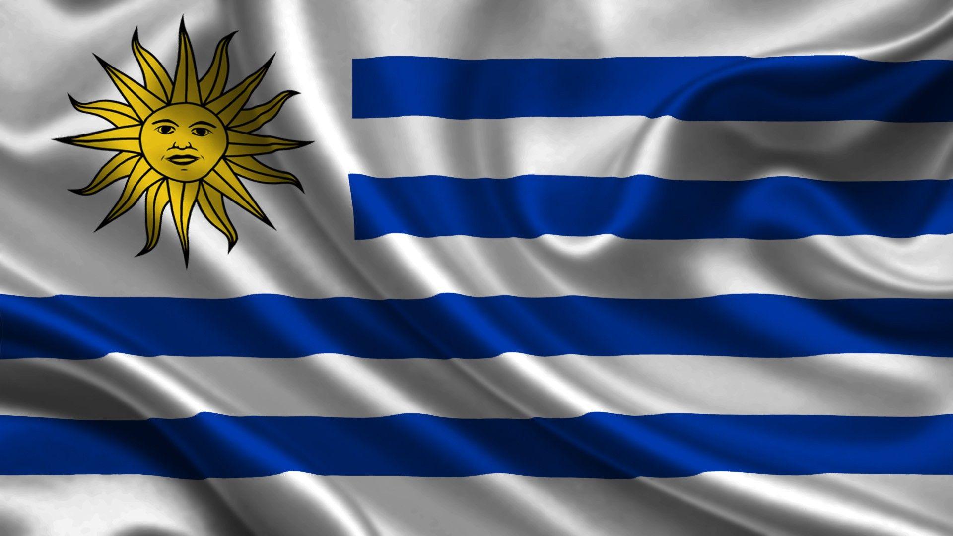 Flag of Uruguay wallpaper Flags wallpaper Uruguay flag 1920x1080