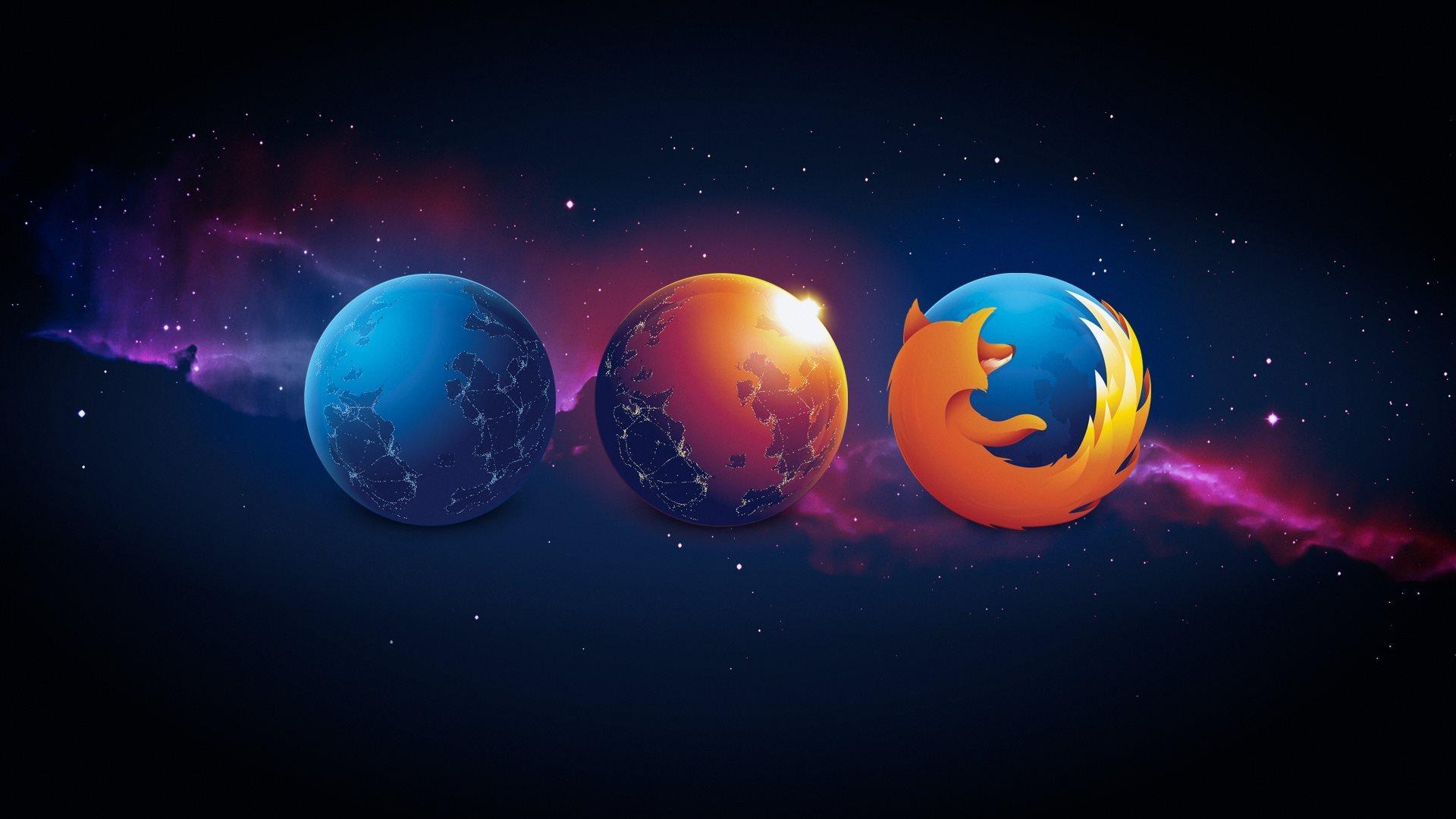 Firefox Logo 1920x1080