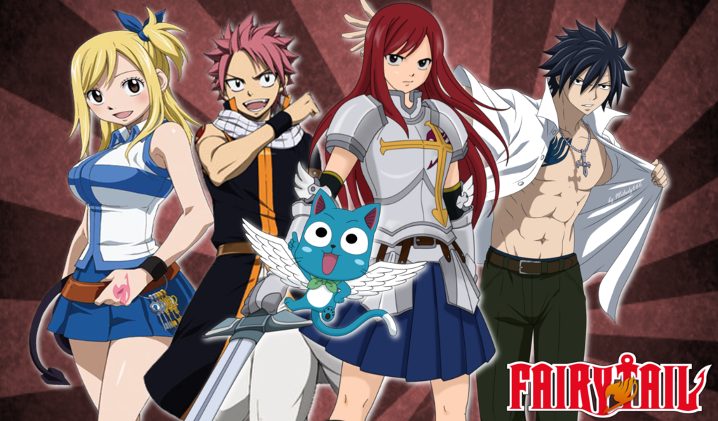 Fairy Tail Wallpapers 5 1024x600