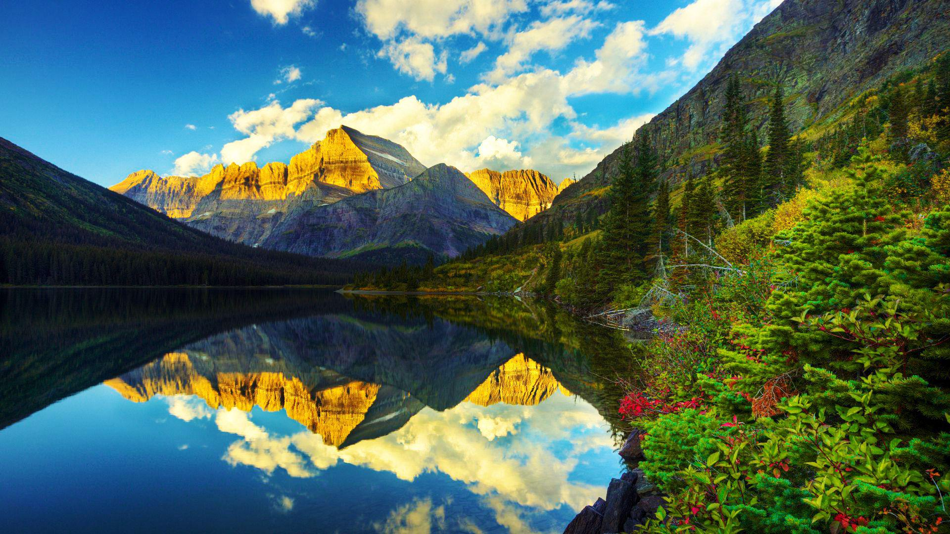34 Glacier National Park Wallpaper Hd On Wallpapersafari