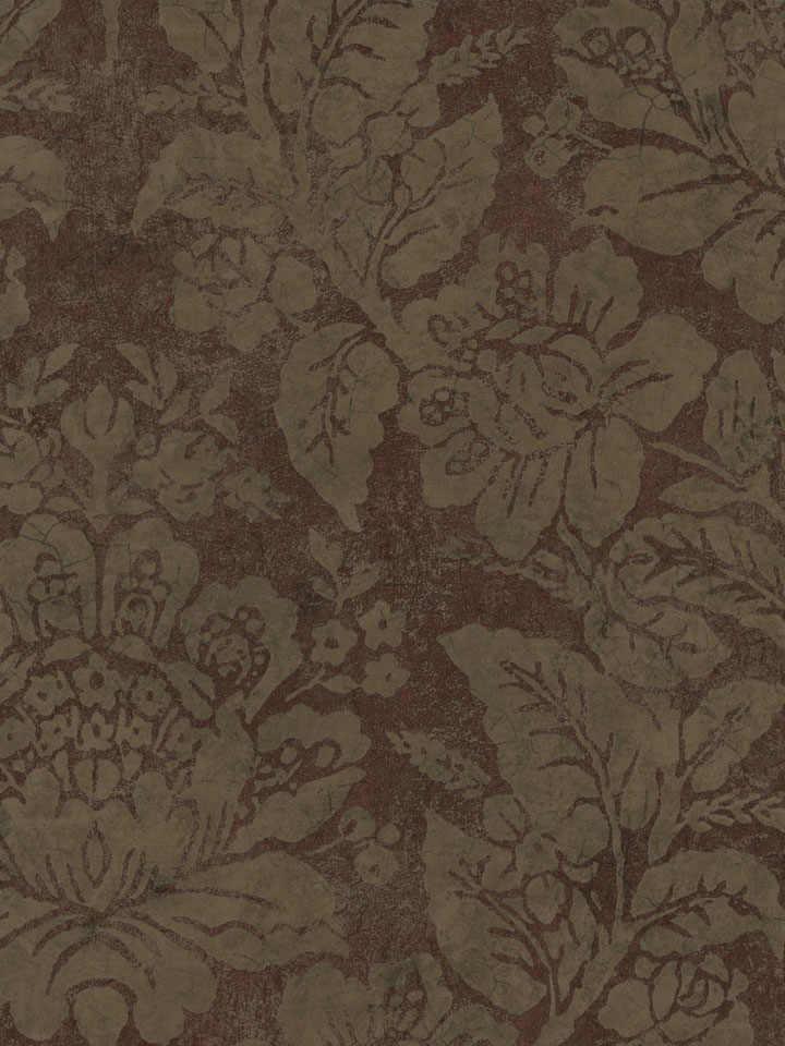 Brown Bohemian Damask Wallpaper   Textures Wallpaper 720x960