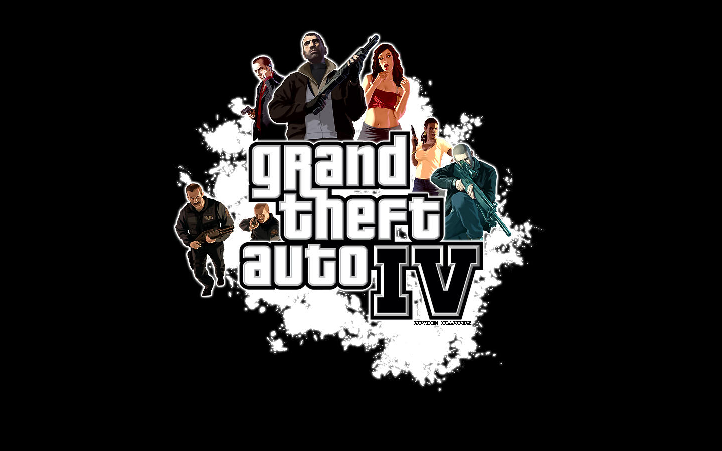 Grand Theft Auto IV Wallpaper by Raptomex 1440x900