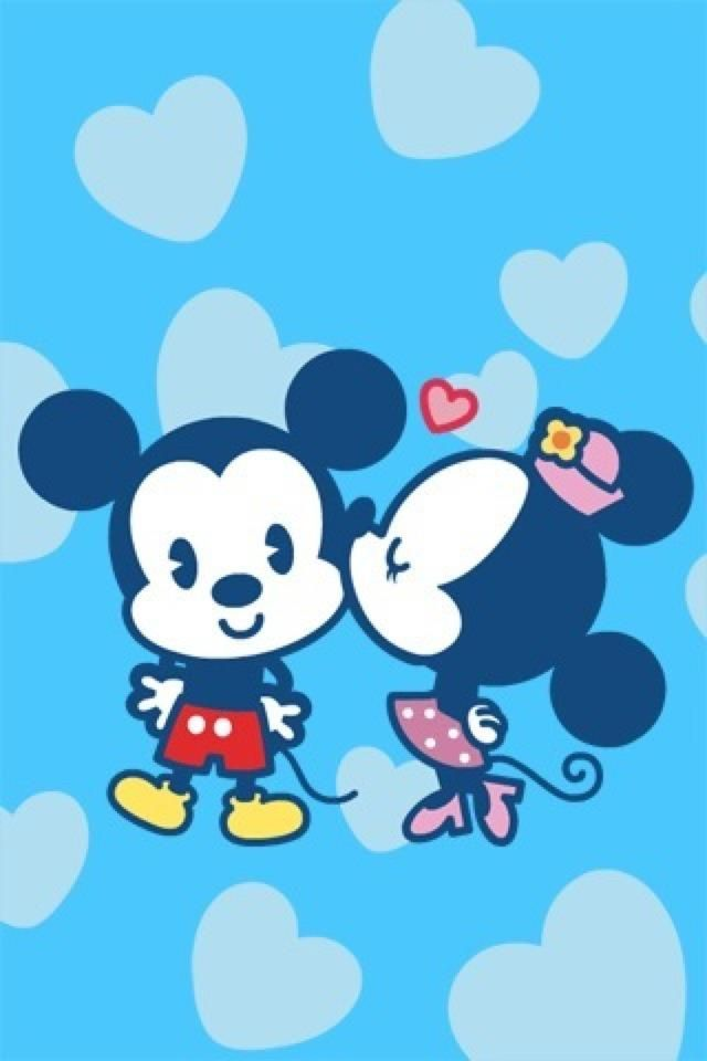 Mickey and Minnie in Love love quotes Pinterest 640x960