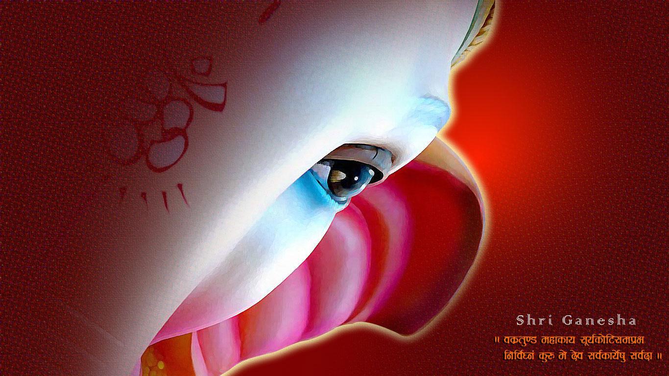 Hd wallpaper ganesh - Jai Ganesh Deva Desktop Wallpapers