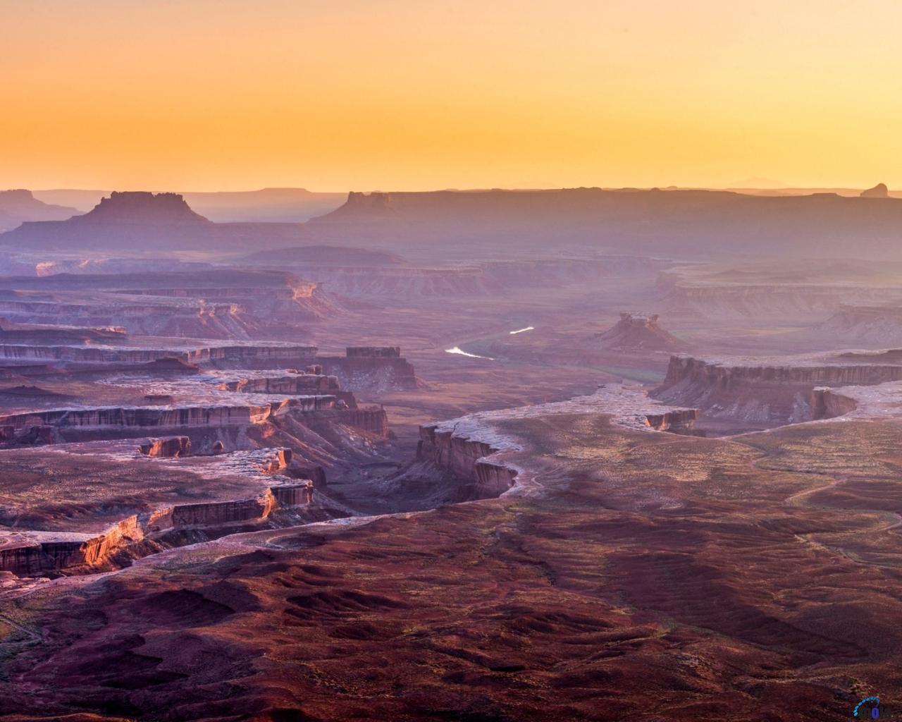Download Wallpaper Canyonlands National Park Utah USA 1280 x 1024 1280x1024
