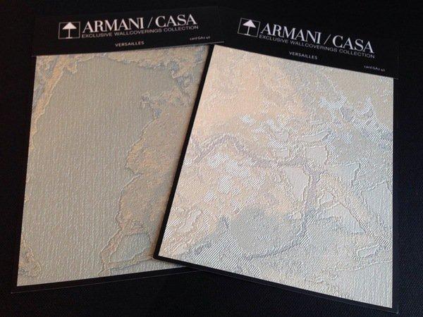wallcoverings Armani Casa wallpaper collection Versailles wallpaper 600x450