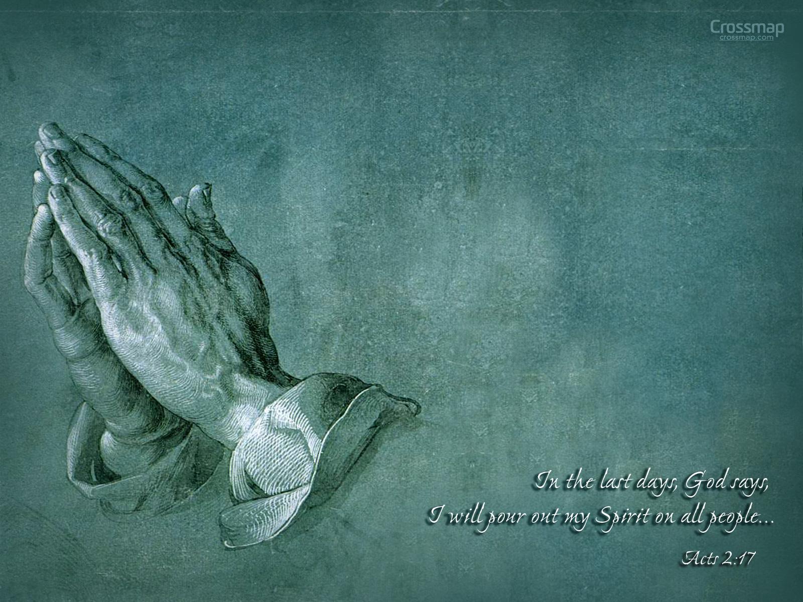 Praying Hands By Albrecht Durer Crossmap 1600x1200