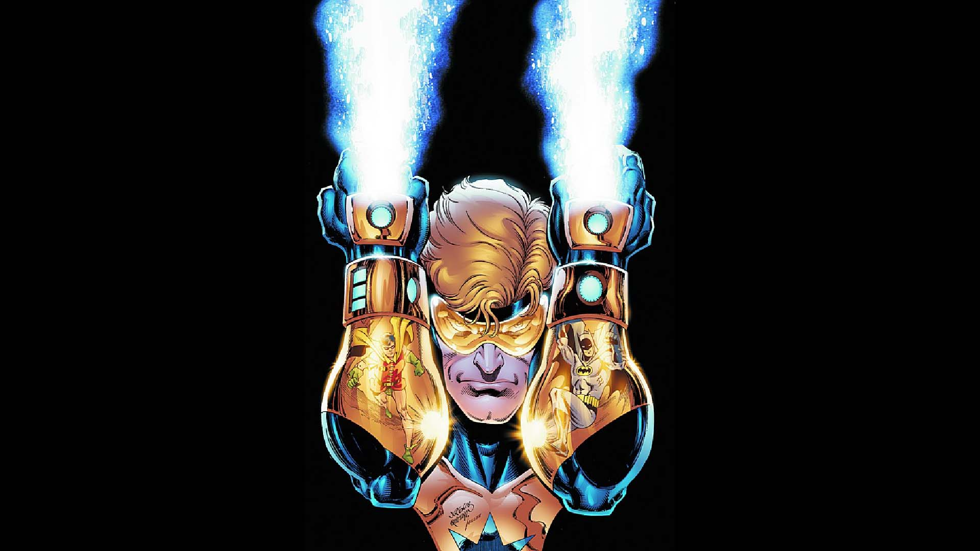 Booster Gold Wallpaper 2   1920 X 1080 stmednet 1920x1080