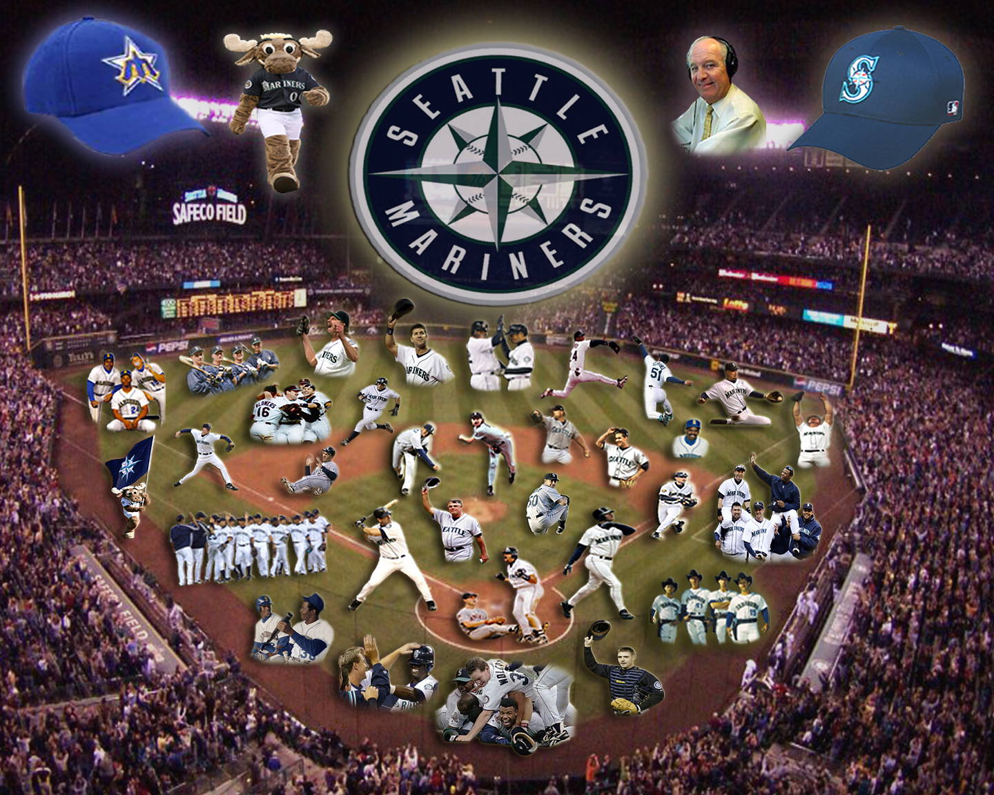 Seattle Mariners Wallpaper 16   1440 X 1152 stmednet 1440x1152