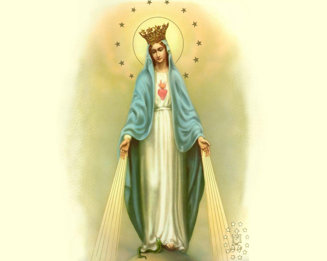 Mary Mother Of God Wallpapers 1280x1024