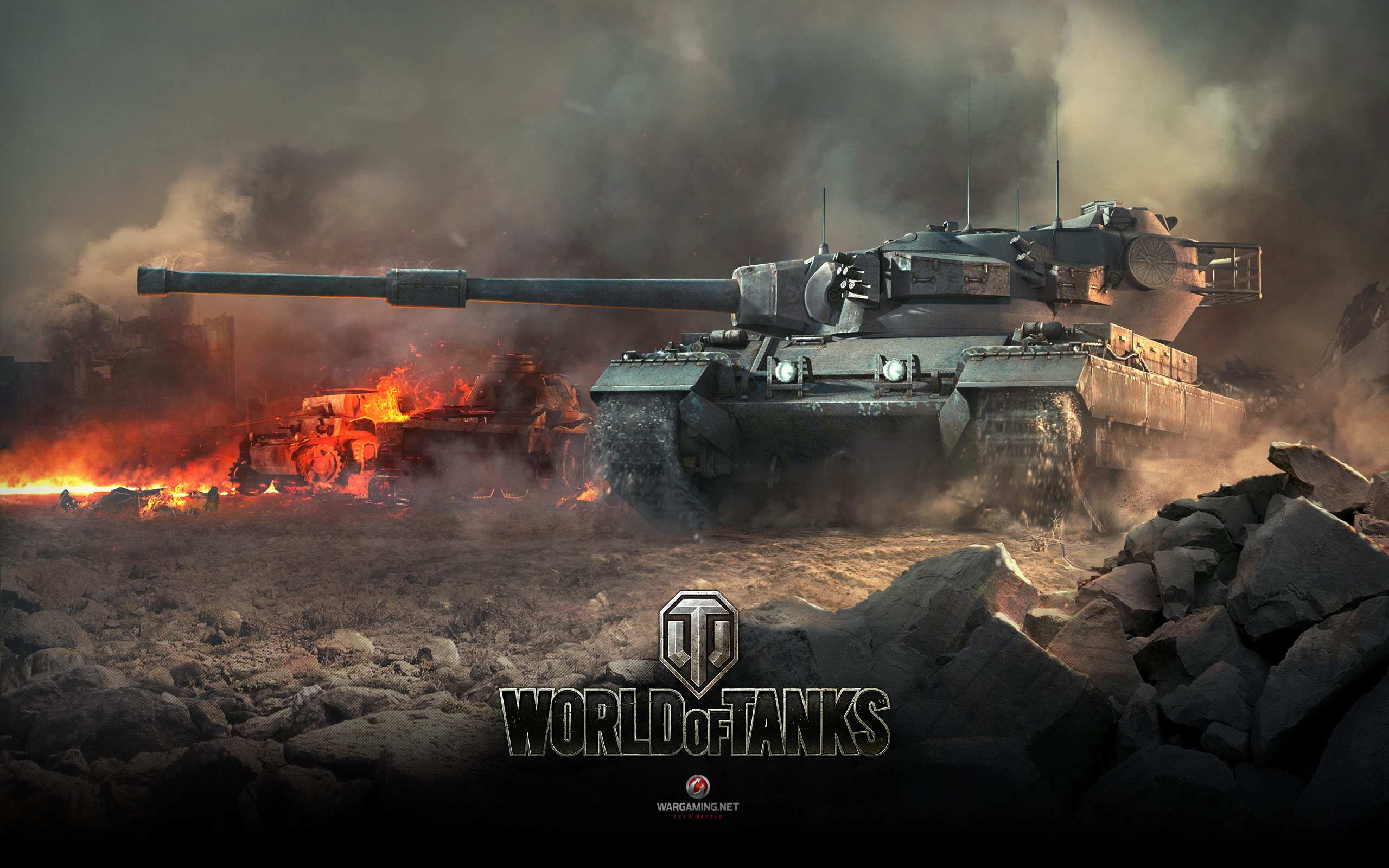 Conqueror World of Tanks HD wallpaper 2560x1600