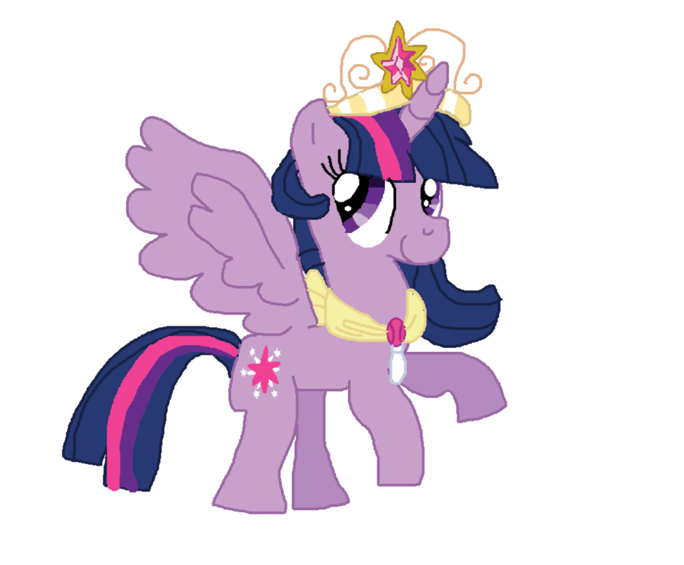 My Little Pony   Princess Twilight Sparkle by Dulcechica19 on 983x812
