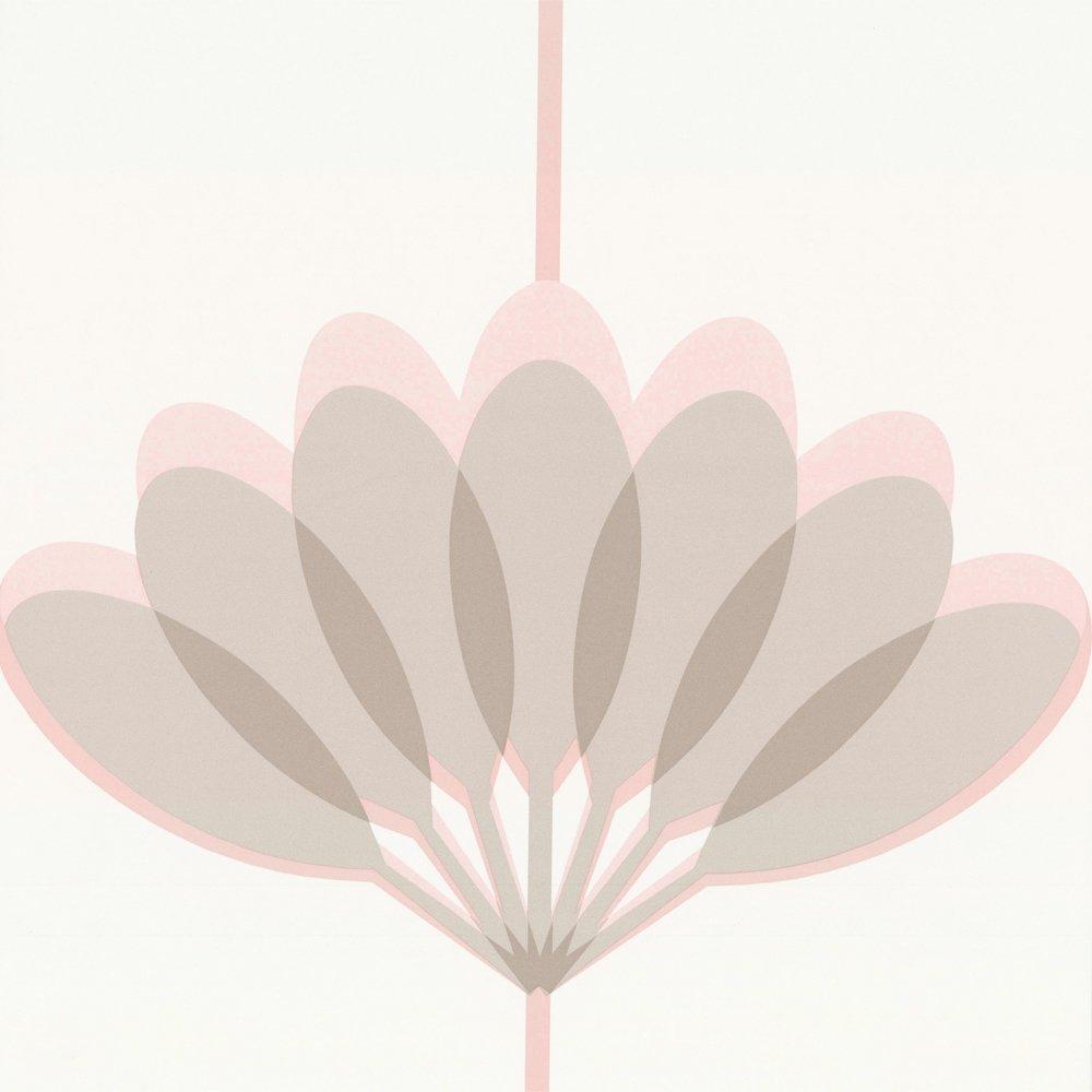 Wallpaper Caselio Caselio Kira Wallpaper Pink Grey Beige 1000x1000