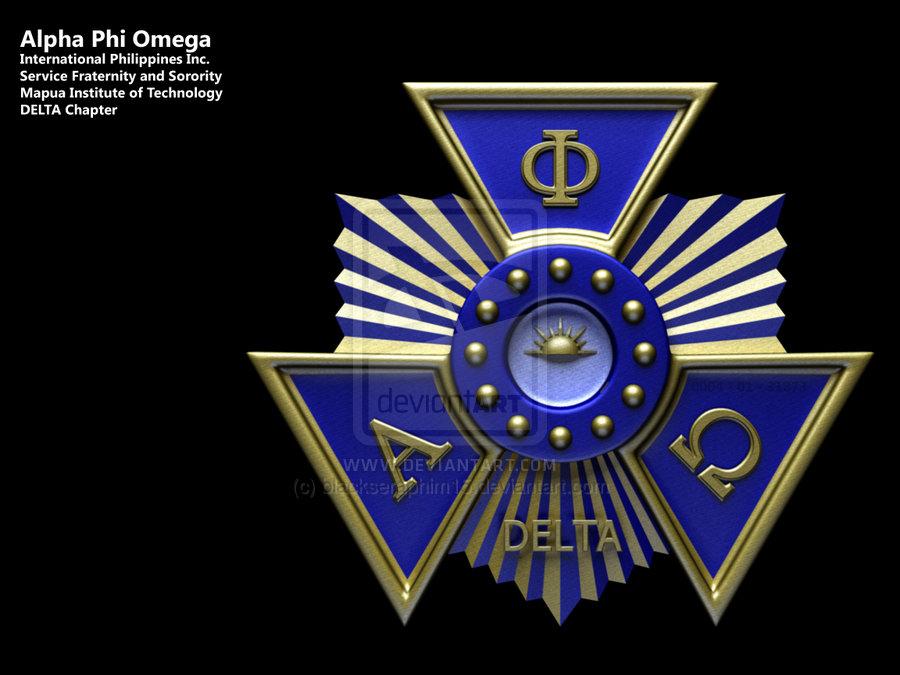 Alpha Phi Omega Seal by blackseraphim15 900x675