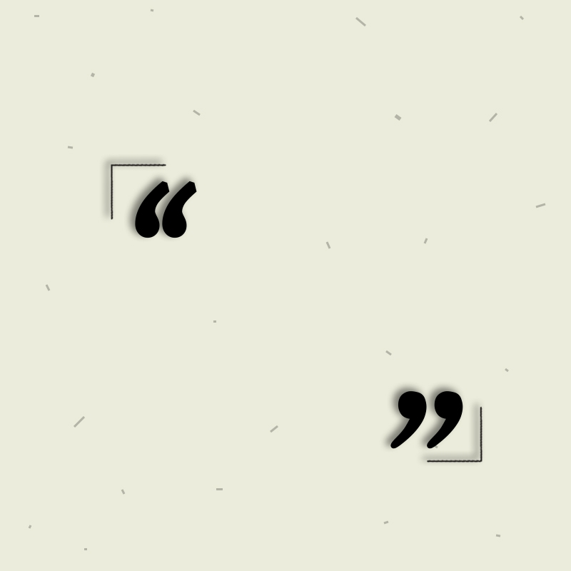 Literary Micro Stereo Double Quotes Simple Black Dialog Background 800x800
