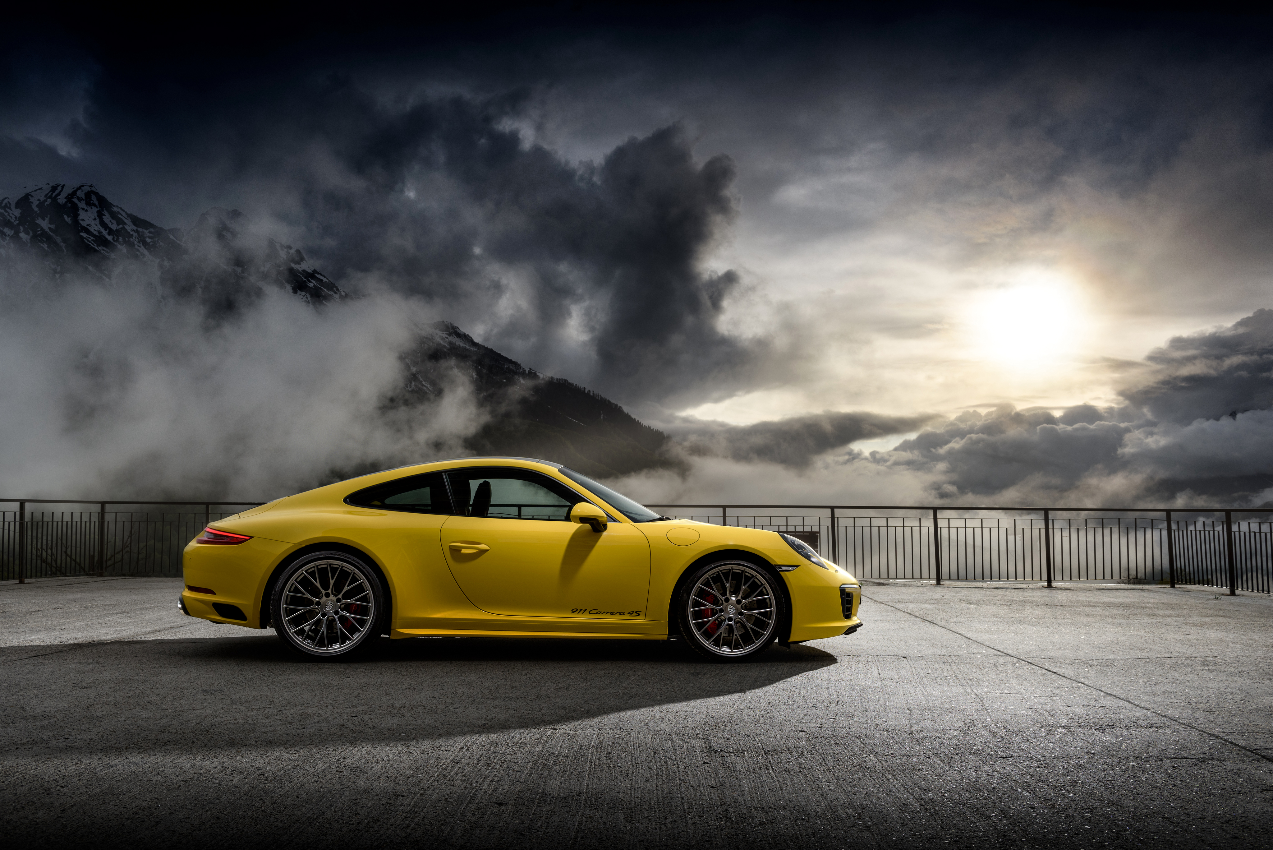 Porsche 911 Carrera 4S 4k Ultra HD Wallpaper Background Image 4096x2734