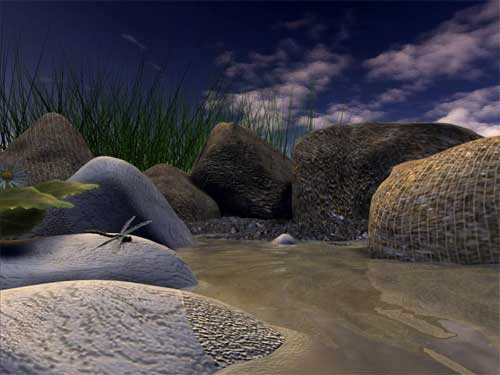 Download SS Dragon Fly   Animated 3D Screensaver 10 Freeware 500x375