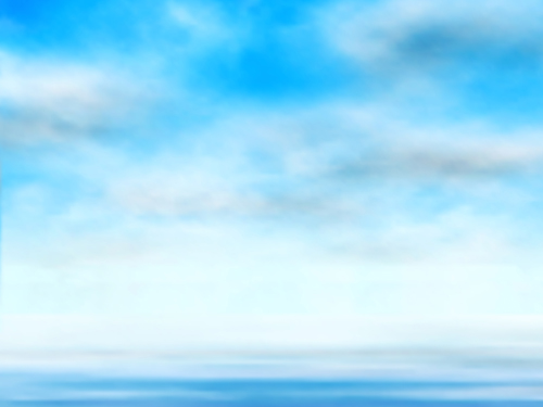 Blue Sky with clouds vector backgrounds 01   Vector Background 500x375