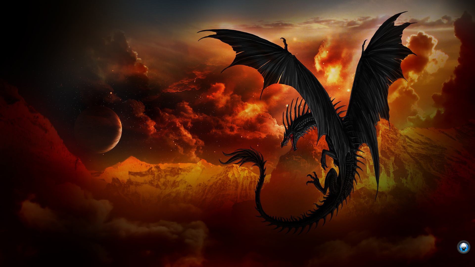 Dragon Wallpaper Themes HD 5165 Wallpaper Cool Walldiskpapercom 1920x1080