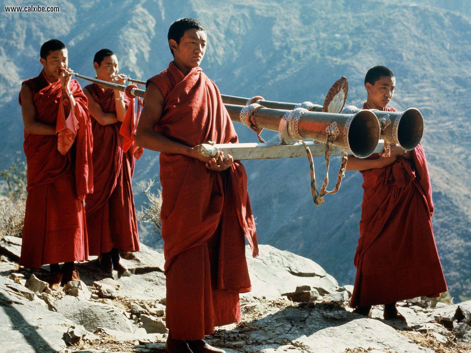 Miscellaneous Tibetan Monks desktop wallpaper nr 14935 1600x1200