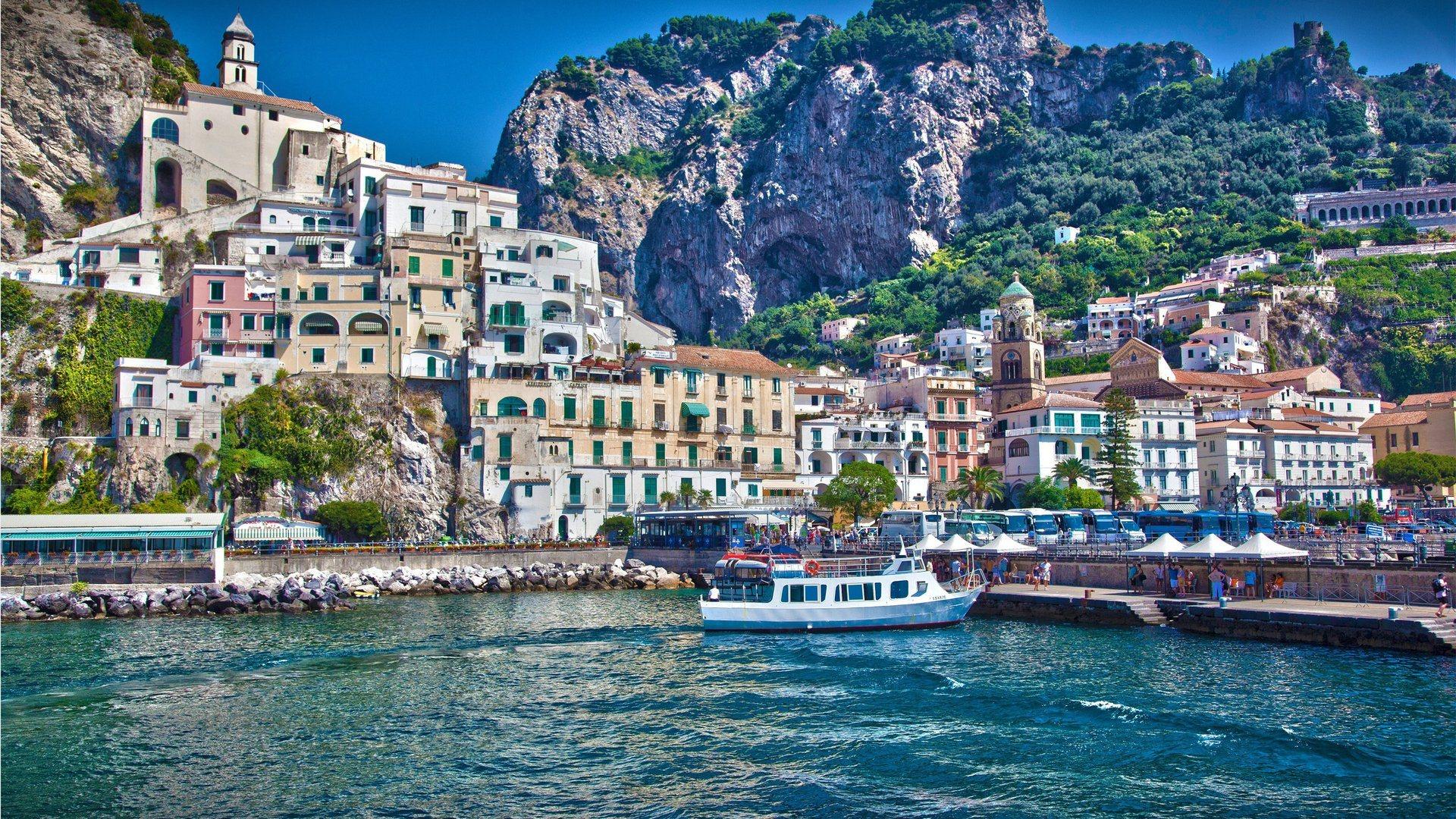 Amalfi Salerno Italy Full HD Desktop Wallpapers 1080p 1920x1080
