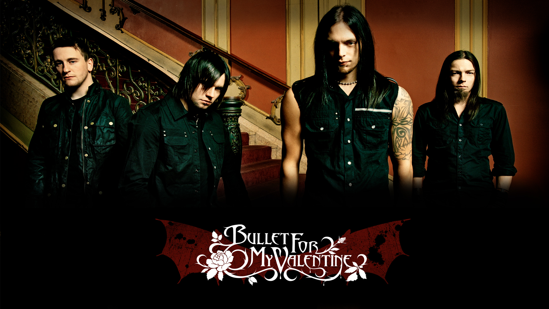 Free Download Music Bullet For My Valentine Wallpaper 1920x1080