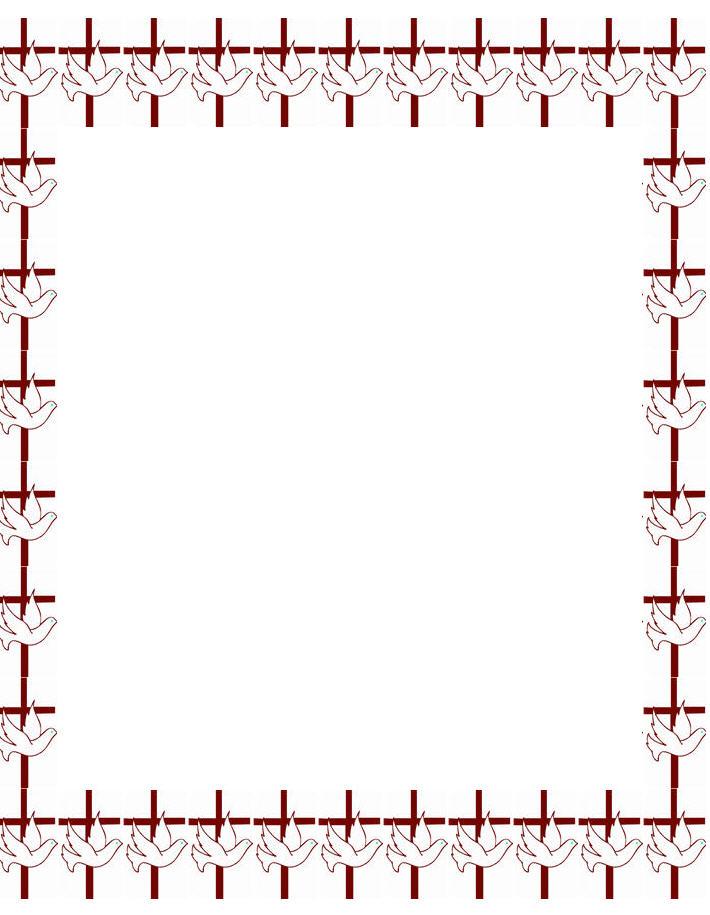 Printable Baby Borders 710x915