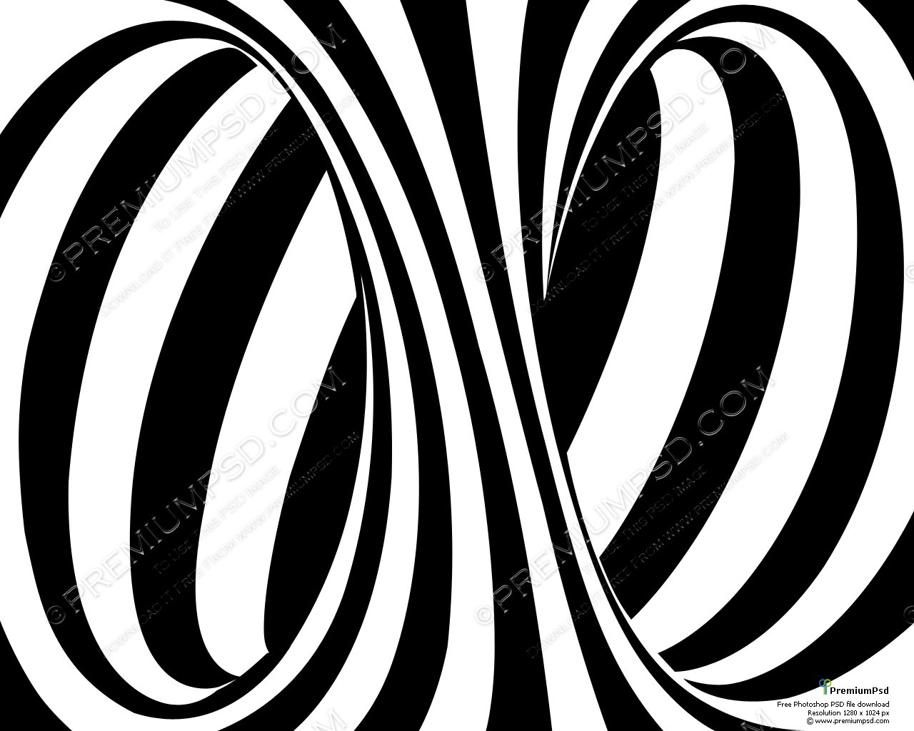 Black And White Striped Wallpaper   Wallpapers Magz 1280x1024