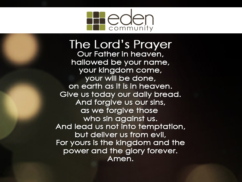 the lords prayer iphone - photo #3