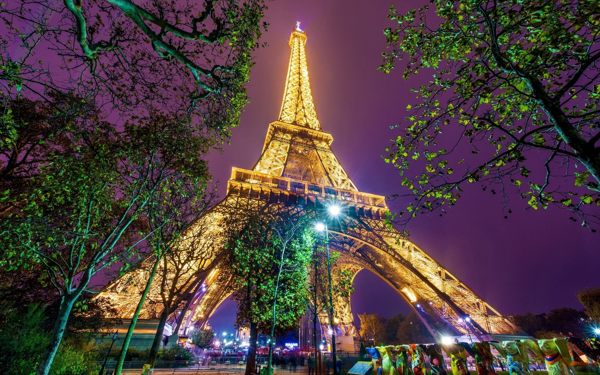46 paris eiffel tower hd wallpaper on wallpapersafari - Paris eiffel tower desktop wallpaper ...