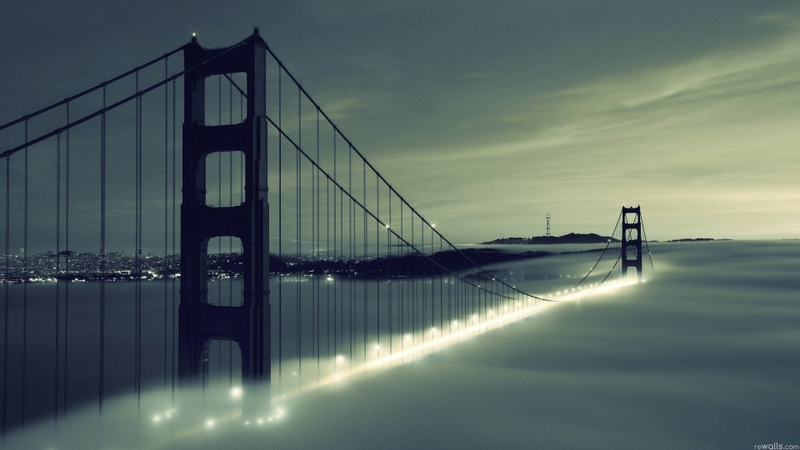 bridge san francisco 1920x1080 wallpaper Architecture Architecture HD 800x450