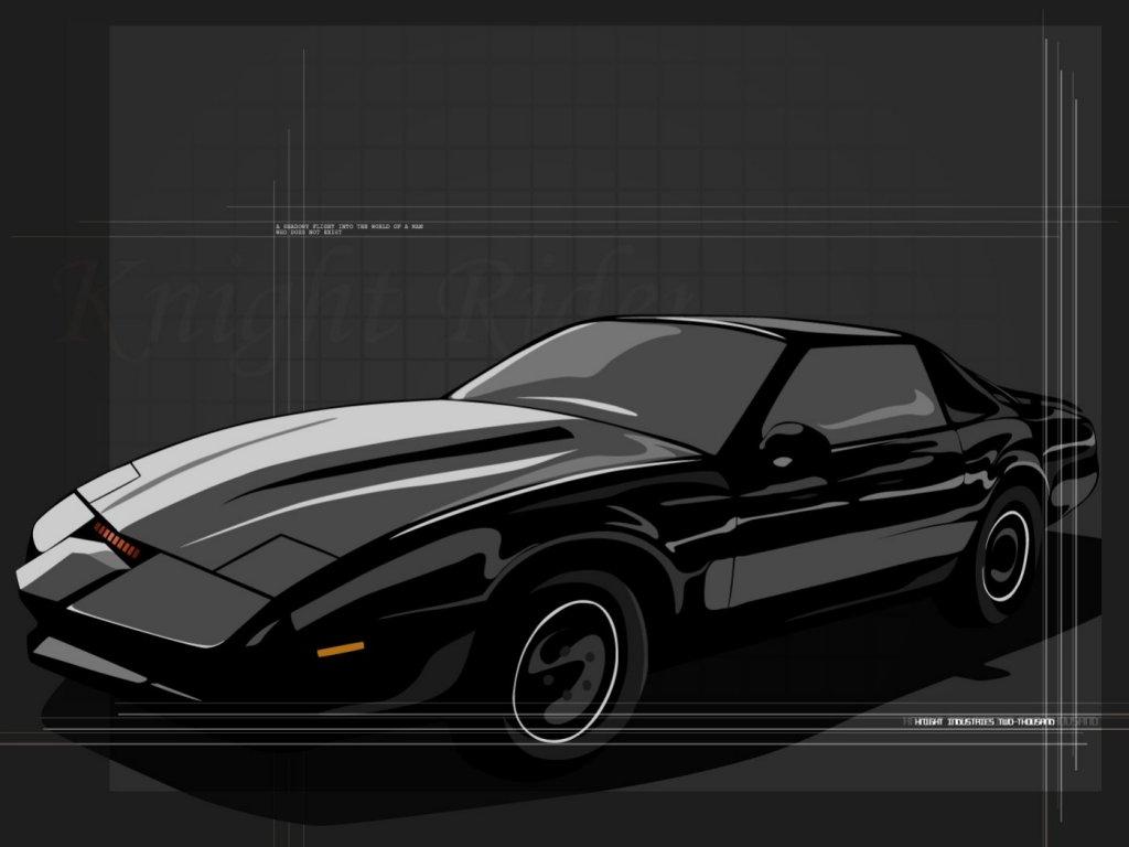 Knight Rider Car Wallpapers 1024x768