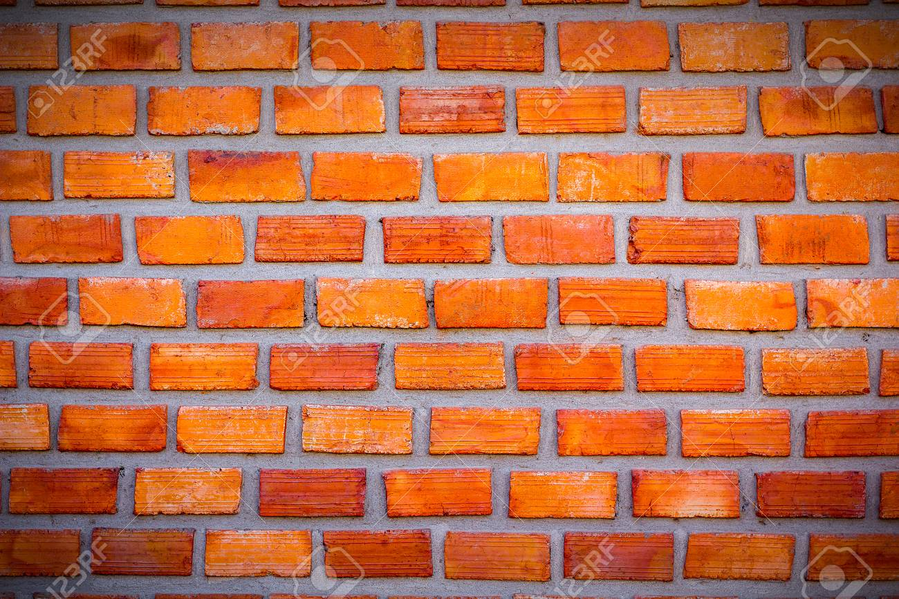 Red Brick Wall Vignette For Placing Letters In The Middle And 1300x866