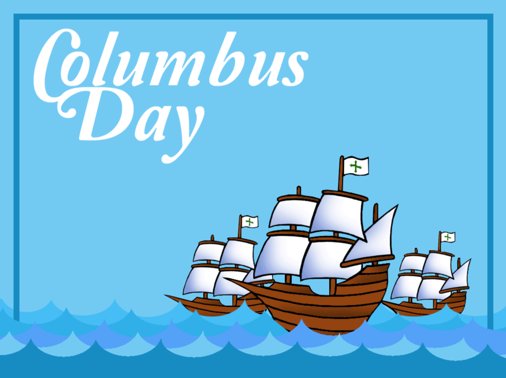 Happy Columbus Day Images Holiday Federal Printable 1024x765