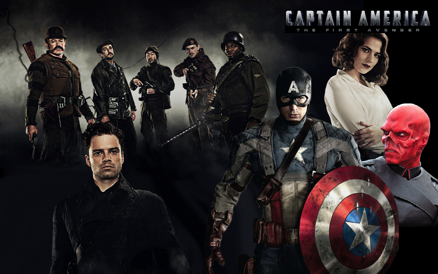 Free Download Captain America First Avenger Captain America