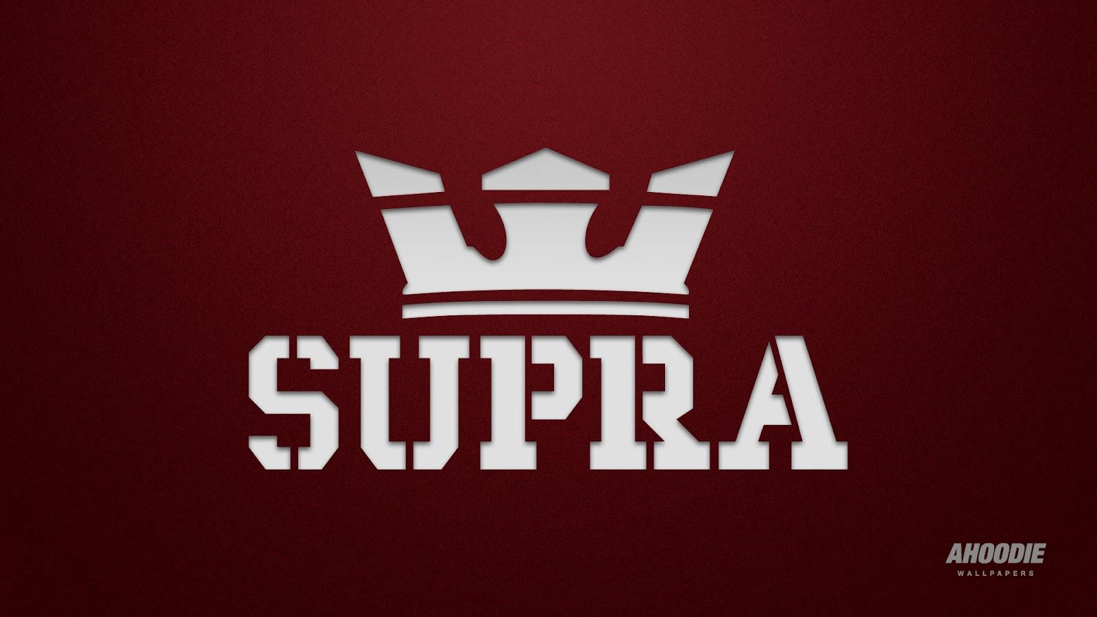 Supra Shoes Logo Wallpaper for Pinterest 1600x900