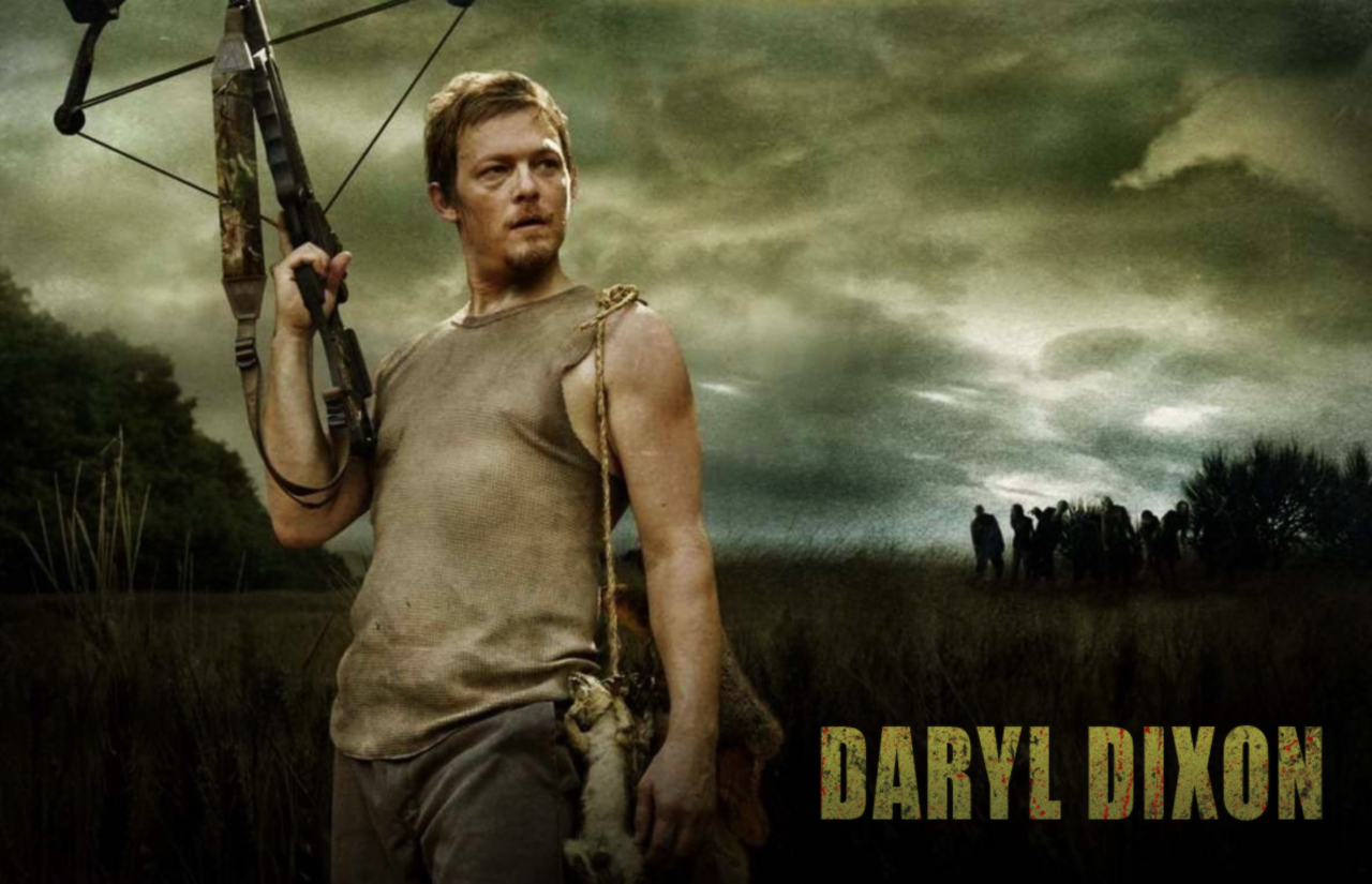 Daryl Dixon The Walking Dead HD Wallpapers Download Wallpapers in 1280x825