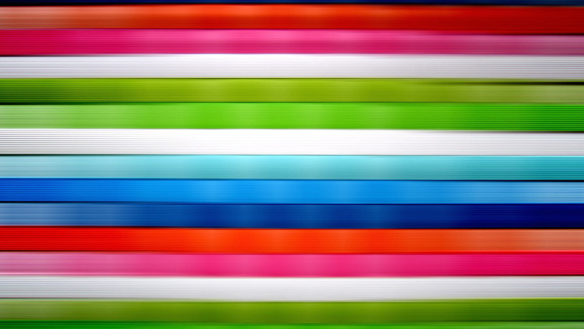 Download Horizontal vivid colored stripes wallpaper 1920x1080