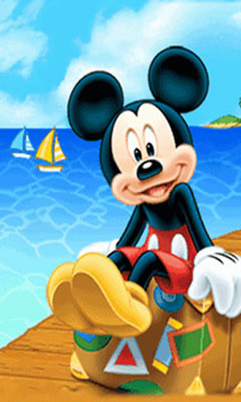 Android Live Wallpaper download   Download the Mickey Mouse 480x800
