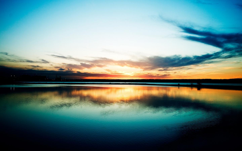 INTERNETS MAGIC High Definition Sunset Wallpaper 1440x900