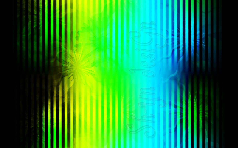 Free Download Sh Yn Design Striped Floral Wallpaper Green Yellow