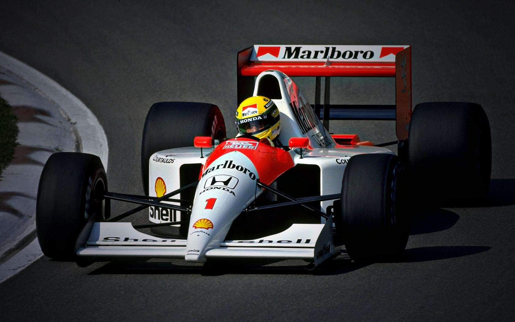 Formula 1 Ayrton Senna 1680x1050